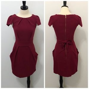 Closet London Structured Tulip Dress with Pockets